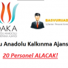 DAKA – Doğu Anadolu Kalkınma Ajansı 20 Personel Alım İlanı – Başvuru Şartları