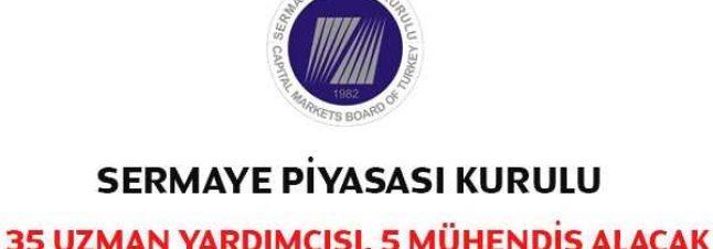 SPK – Sermaye Piyasa Kurulu Uzman Yardımcısı ve Mühendis Alımı İlanı