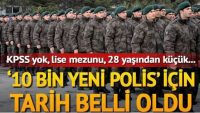 10.000 Yeni Özel Harekat Polisi Alımı